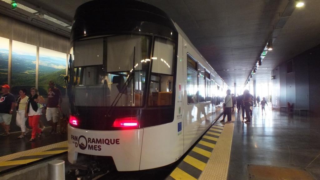 Mit der Zahnradbahn auf den Puy de Dome