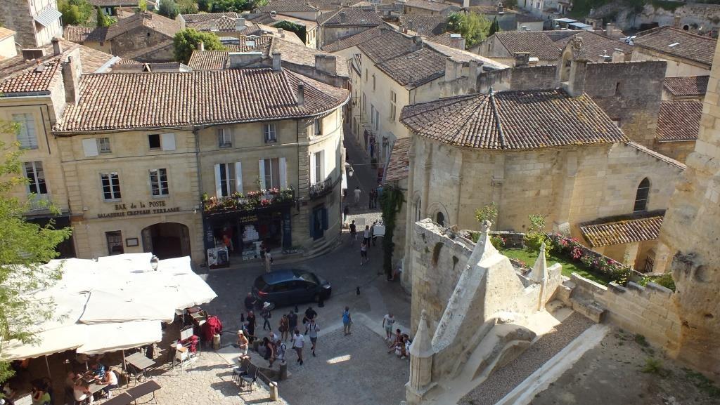 St. Emilion von oben