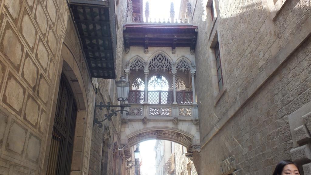 Die Seufzerbrücke von Barcelona