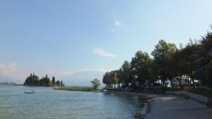 Am Ufer des Gardasees