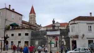 Die Stadtmauer von Trogir