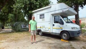 Campingplatz nahe Split
