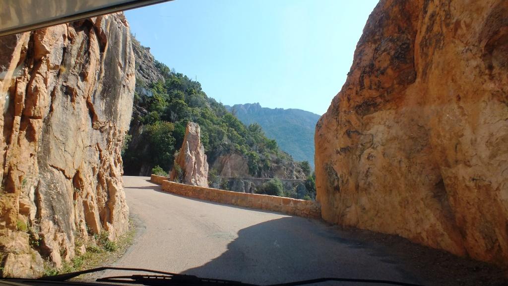 Auf der Küstenstrasse von Calvi nach Porto
