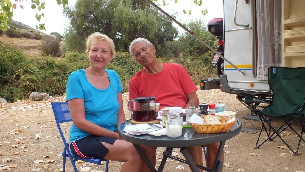 Frühstück bei Margot & Egbert