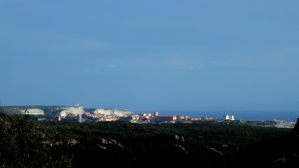 Die Skyline von Bonifacio