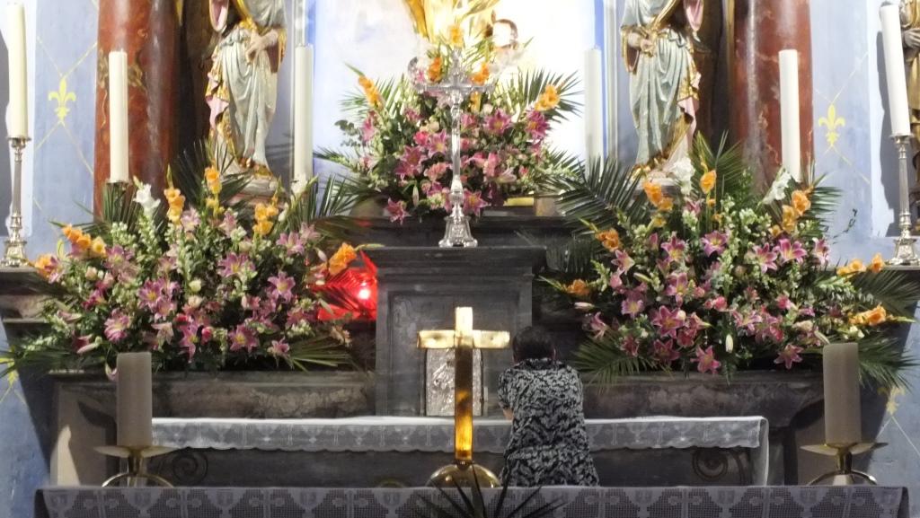 Der prächtige Altarschmuck