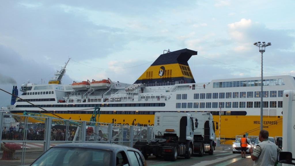 Im Hafen von Bastia