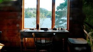 Edvard Griegs Schreibtisch