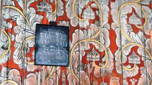Die dekorativen Wandmalereien