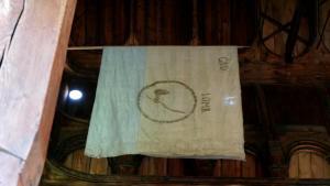 Diese Flagge von Lom ist 400 Jahre alt