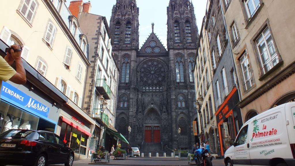 Die Kathedrale von Clermon-Ferrand