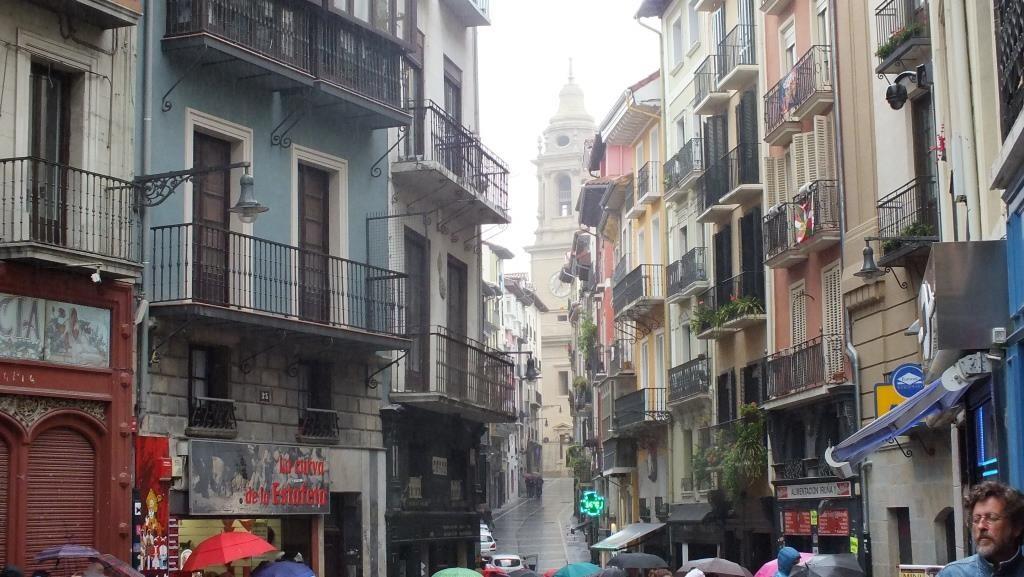 In den Gassen von Pamplona