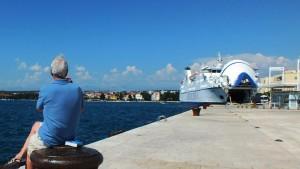 Am Kai von Zadar