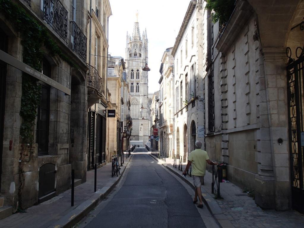 In den Gassen von Bordeaux