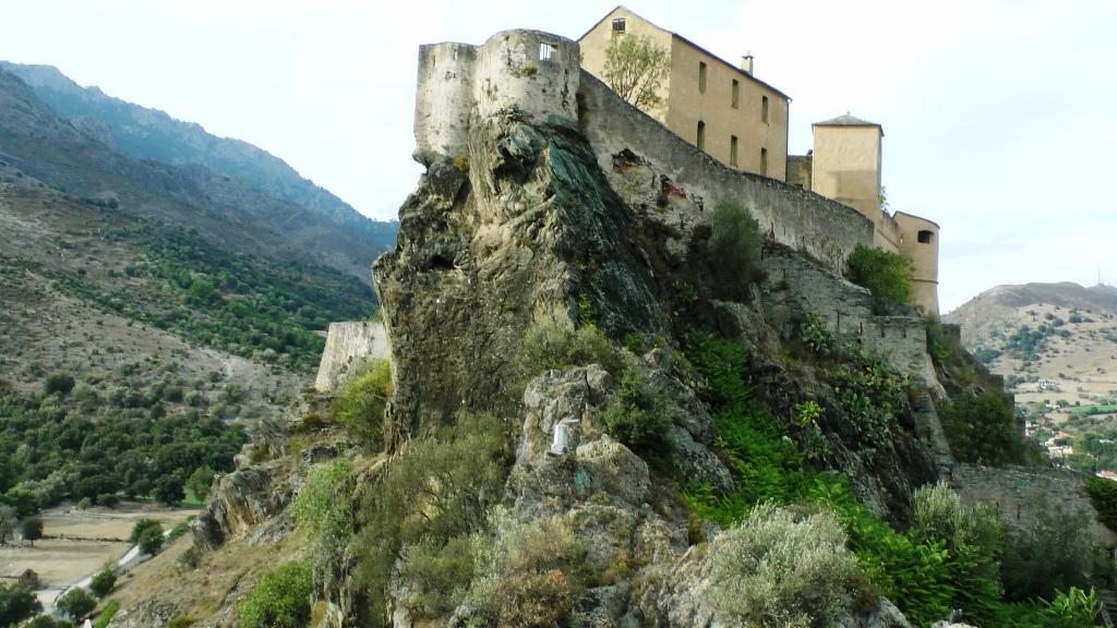 Die Zitadelle von Corte