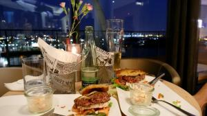 edle Burger in edlem Ambiente