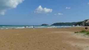 Ein wunderschöner Strand ...